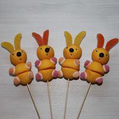 Brochette de bonbons lapin