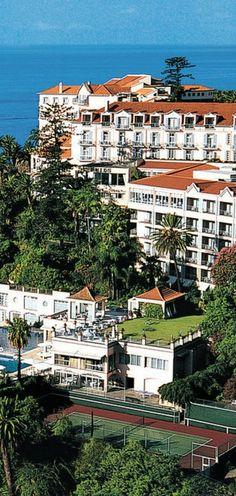 Belmond Reid's Palace, Funchal City, Madeira Island @mybirthplace