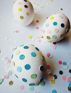 Ovos de Páscoa decorados em ritmo de Carnaval | Eu Decoro