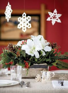 Photo Gallery: DIY Holiday Flower Arrangements | House & Home