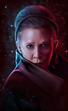 "Study - ""General Leia Organa"", Hanna R Star Wars Pictures, Star Wars Images, Star Wars Fan Art, Star Trek, Princesa Leia, Han And Leia, Star Wars Princess Leia, Star Wars Episode Iv, Star Wars Poster"