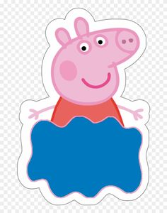 10 Peppa Pig Clipart - Peppa Pig Desenho Clipart Toss the birthday celebration which is Peppa Pig Gratis, Peppa Pig 2, Cumple Peppa Pig, Peppa Pig Pinata, Special Birthday, 2nd Birthday Parties, Birthday Party Decorations, Birthday Celebration, Peppa E George