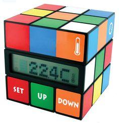 Rubiks cube clock