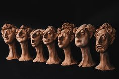 Home - Andrei Pandea Art For Art Sake, Handmade Ceramic, Caricature, Orlando, Sculpting, Garden Ideas, Art Ideas, Lion Sculpture, Portraits