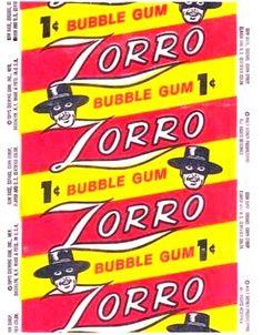 Zorro Bubble Gum
