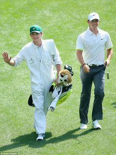 Hello there: It was revealed that Niall would be the caddy for Rory at the par 3 contest earlier in the week