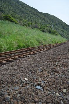 Rail tracks completely moved off to side after 7.8mag earthquake Kaikoura NZ