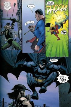 The weird thing about Batman and Supe's relationship is that Batman is kinda the brooding, protective older brother while Clark is the overly-cheerful, boy-scout younger brother who thinks he's invincible and thus gets himself in a lot of bad situations….