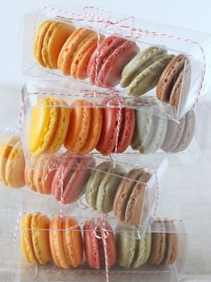 Macaron Gift Boxes by TreatsSF, via Flickr