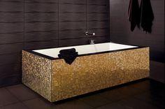 Plain Tiles Gold Tiles