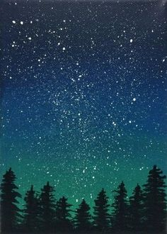 30 Startling Acrylic Galaxy Painting Ideas Sky Painting Galaxy Original Night Sky Painting Canvas 1 5 Thick Hang On The 3345 Best Paint Night Ideas Images In 2020 Painting…Read more of Night Painting Ideas Easy Canvas Painting, Simple Acrylic Paintings, Easy Paintings, Painting & Drawing, Canvas Art, Acrylic Canvas, Galaxy Painting Acrylic, Acrylic Painting Trees, Tree Paintings