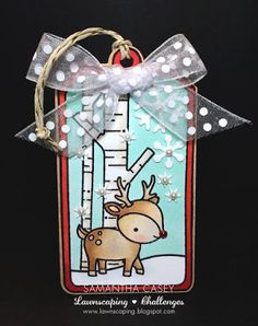 In My Creative Opinion: 25 Days of Christmas Tags - Day 10