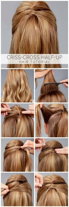 Braiding long hair tutorials