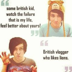 amazingphil and danisnotonfire. These two British boys have pretty much taken over my life. British Youtubers, Best Youtubers, Dan And Phill, Phil 3, Danisnotonfire And Amazingphil, Tyler Oakley, Cat Whiskers, Smosh, Dan Howell