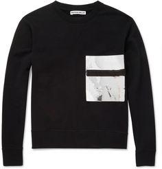 Matthew Miller Foil-Pocket Cotton-Jersey Sweatshirt