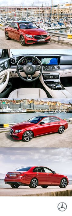 Four sport seats. Sixty Four ambient lighting options. Over one hundred years of luxury performance. It all adds up to the 2017 E300 as it ran through its paces for our press drive in Portugal.