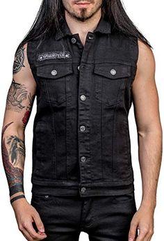 Looking for Wornstar Clothing Men's Idolmaker Vest ? Check out our picks for the Wornstar Clothing Men's Idolmaker Vest from the popular stores - all in one. Work Jackets, Men's Coats And Jackets, Affliction Clothing Women, Denim Vest Men, Rock Outfits, Mens Fleece, Black Denim, Clothes, Men's Jacket