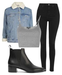 Untitled #42 by exc4libur on Polyvore featuring Topshop and Acne Studios