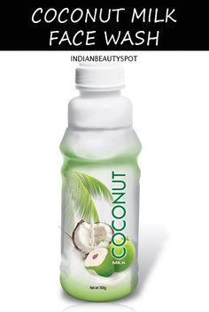 #DIY coconut-milk-face-wash-body-soak