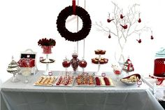 As Christmas is around the corner,we have red and white Christmas party ideas here, such Christmas baby shower ideas , bridal shower ideas a. Christmas Bridal Showers, Christmas Baby Shower, Christmas Brunch, Country Christmas, White Christmas, Christmas Breakfast, Wish You Merry Christmas, Christmas Time, Xmas