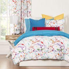 Children's Bedding/Comforter:Twin Crayola Splat 2pc Comforter Set #Crayola
