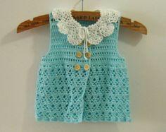 Chalecos a crochet para niñas (7)