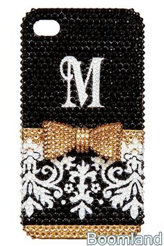Damask Personalize Custom Monogram iphone 4 by iPhoneCasesStyle, $28.65
