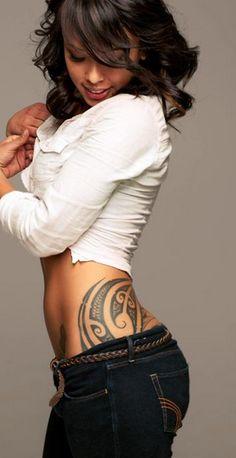 Hip tattoos ❤ maori tattoos