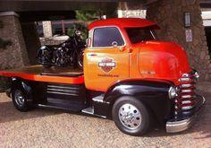 Chevy COE Harley Hauler