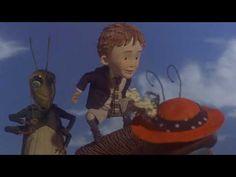 Mi pelicula favorita cuando era niña: Jim y el durazno gigante <3