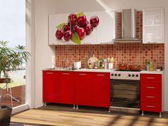 Кухонный гарнитур Пенза мебель Вишня - купить в интернет магазинах Москвы, на Викимарте по лучшей цене! Отзывы, видео, быстрая доставка.
