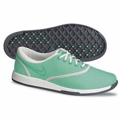Nike Golf Ladies Duet Sport Golf Shoes 2013 - Crystal Mint/Atomic Teal/Summit White