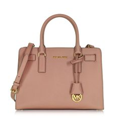17320b76fe208 Michael Kors Dillon Dusty Umhängetasche aus Saffianleder in rosé -  Pineapples   Peppermint. Michelle · Taschen