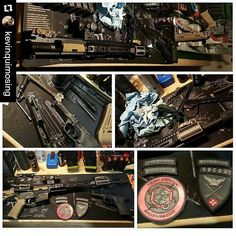 Now that's how you do it. Patch love.  #Repost @kevinquimosing with @repostapp  All clean!!!Ready for next weekend!!! #clean #gunmaintenance #cleangun  #traintraintrain #trainingday #rangeday #rifle #pistol #runyourgun #guns #pewpew #2a #defendthesecond #tacticaltraining #tacticalshooting #defensiveshooting #pewpew #doyouevenpewpewbro #pewpewlife #soconusa #teamkraken #k133