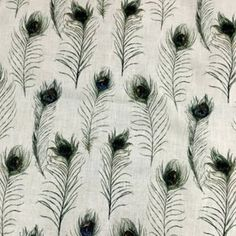 Poly Linen w pm Please choose your fabric carefully as all purchases are final and we cannot refund or credit fabric once it has been cut Curtain Fabric, Curtains, Peacock Feathers, House Design, Fabrics, Tejidos, Blinds, Fabric, Draping