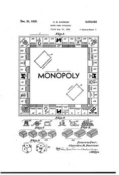 US2026082A - Board game apparatus - Google Patents