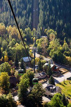 World's Longest Gondola in Kellogg, Idaho.