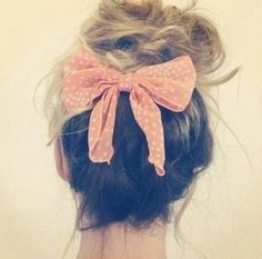 Haar / strik / hair / bow