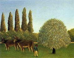 "Henri Rousseau:  ""In the Fields"""