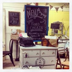 Downtown Charm - A relatively new local shop offering adorable vintage and upcycled furniture, gift items and merchandise crafted by local artisans.
