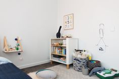 Dinosaur themed boy's room: A peek inside Patrick's big boy room. Neon name sign in kids bedroom. Modern Boys Rooms, Bedroom Modern, Kids Bedroom, Bedroom Decor, Quirky Decor, Toddler Rooms, Room Tour, Quilt Cover Sets, Fashion Room