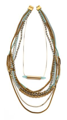 serefina Beaded Layer Set Necklace