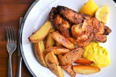 Crispy on the outside and meltingly tender inside, Danny's whole deep-fried poussin recipe is a pure feast. Saffron Recipes, Spanish Chicken, Saffron Rice, Great British Chefs, Italian Chef, Small Chicken, Midweek Meals, Meals For Two, Potato Wedges