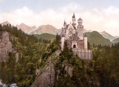 Neuschwanstein Castle, Germany. Wanna go again n again