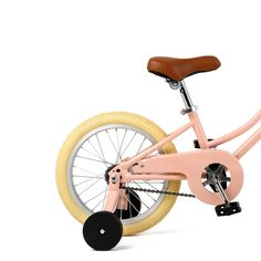 """""""Mini"""" doesn't mean short on features, this dreamy lil' single-speed 16"""" bike comes with a handbuilt high-tensile steel easy-to-mount frame and lightweight aluminum wheels. Shop Now! Balance Bike, Kids Bike, Aluminum Wheels, Infant Activities, Cool Baby Stuff, Aluminium Alloy, Bicycle, Sister Bedroom, Steel"""