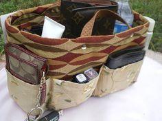 purse organizer insert /Shaper  / Extra Sturdy/ by malycreations, $29.99