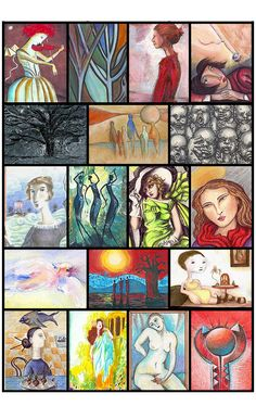 IllustratedATCs.com: Artist Trading Cards - ATCs and Mail Art for collecting and swapping with other artists