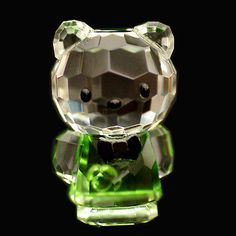 Mini cat green #hello #kitty austrian crystal figurine ornament sculpture #rrp$79,  View more on the LINK: 	http://www.zeppy.io/product/gb/2/181733133642/