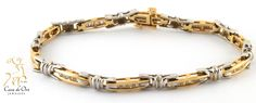 Diamond Bracelet 14K Two-Tone 1.0ctw