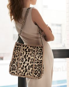 Valentino Cavallino Rockstud Small Hobo  *clearly I'm not done with this bag...LUV!